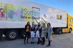 Imagen de la visita en Almarza.
