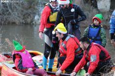 Foto 4 - El piragüismo soriano empapa de agua la Nochebuena