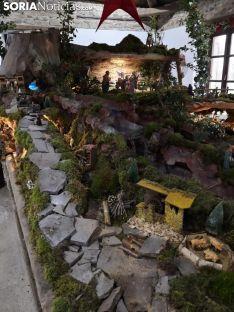Imágenes del Belén instalado en San Andrés de Soria
