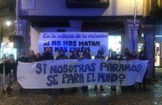 Asamblea Feminista de Soria en Aranda.