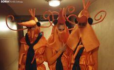 Los langostinos durante el Sorteo de Navidad.