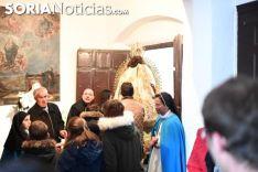 Una imagen de la subida de la Virgen. /SN
