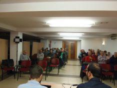 Reunión del PSOE en su sede en base a la restructuración de la Atención Primaria en CyL. PSOE