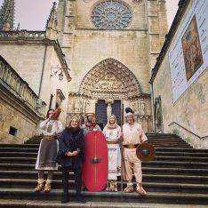 Numancia en el Belén del ejército en Burgos.