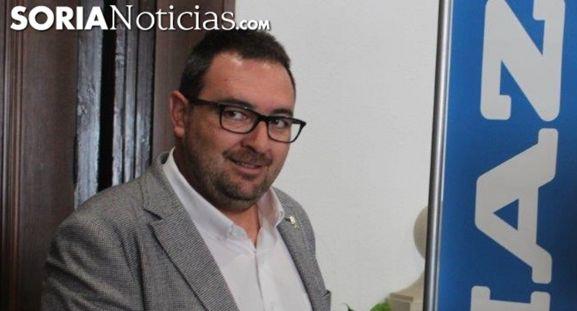 Pedro Casas, concejal del PSOE en el Ayuntamiento de Golmayo. /SN