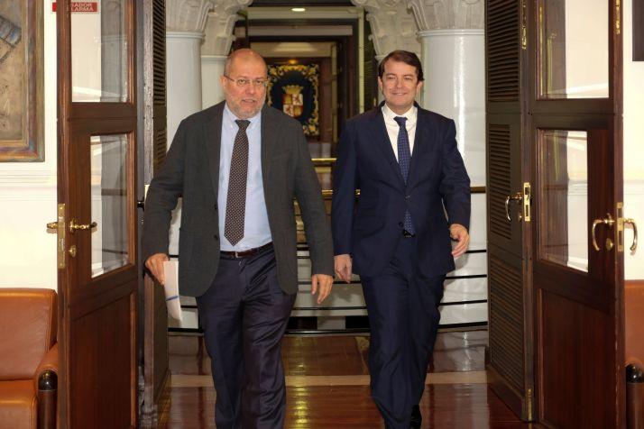 Igea y Mañueco en una imagen de archivo.