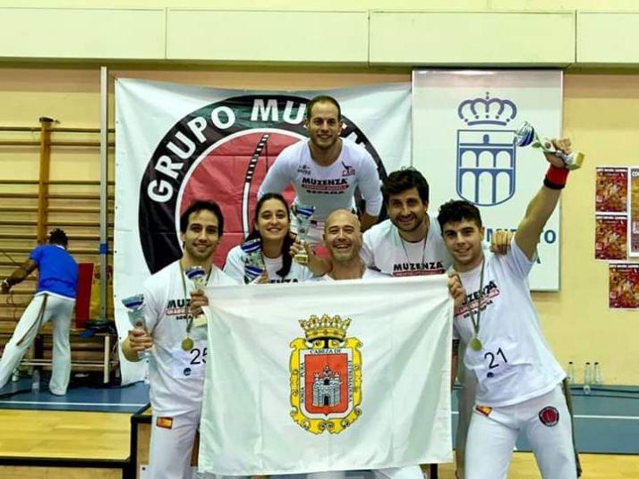 Valverde, Gallego y Muzenza, oros para Soria en el Nacional de capoeira en Segovia