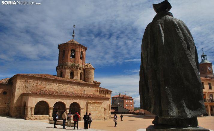 Una imagen de la plaza mayor de la villa. /SN
