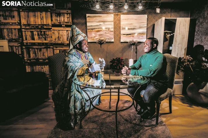 Soria Noticias se cita con Baltasar. Carmen de Vicente