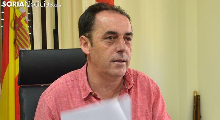 Benito Serrano, alcalde de Golmayo. /SN