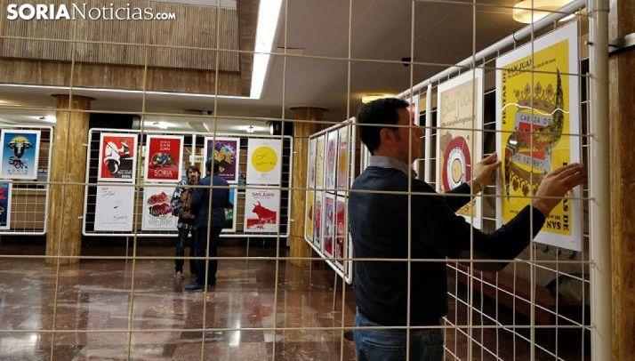 Exposición con las obras finalistas de los Sanjuanes 2019. /SN