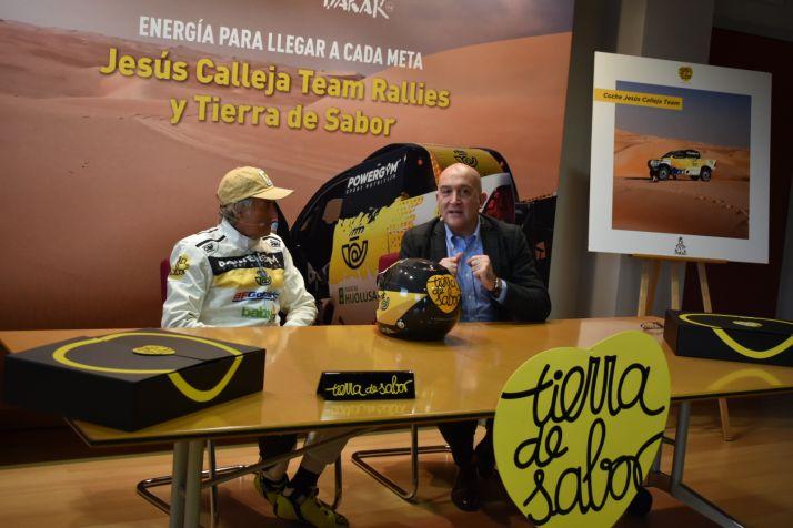 Promoción de Tierra de Sabor en el Rally Dakar 2020.