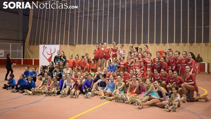 Foto 1 - Galería: Patín Soria consigue 13 trofeos en el II Trofeo Nacional de Patinaje Artístico Ciudad de Soria