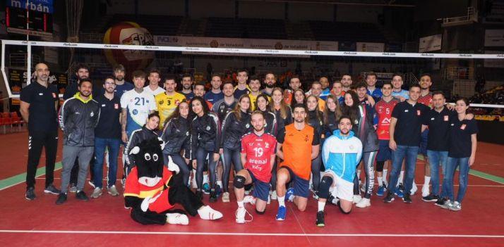 Partido de las estrellas. Real Federación Española de Voleibol