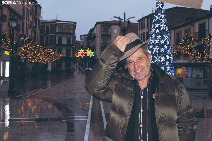 Javier Muñiz se sienta en el Rincón de Soria Noticias