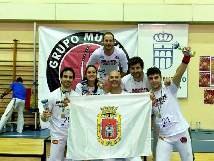 El equipo soriano de Capoeira, bronce en la Copa de España