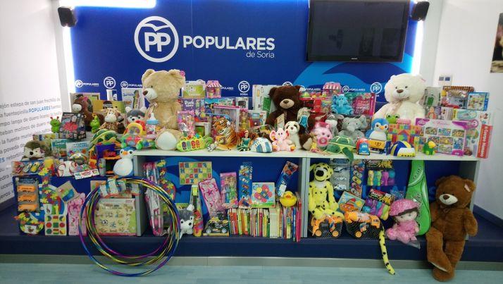 Nuevas Generaciones inicia la recogida navideña de juguetes solidarios