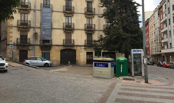 Una imagen reciente de la plaza.