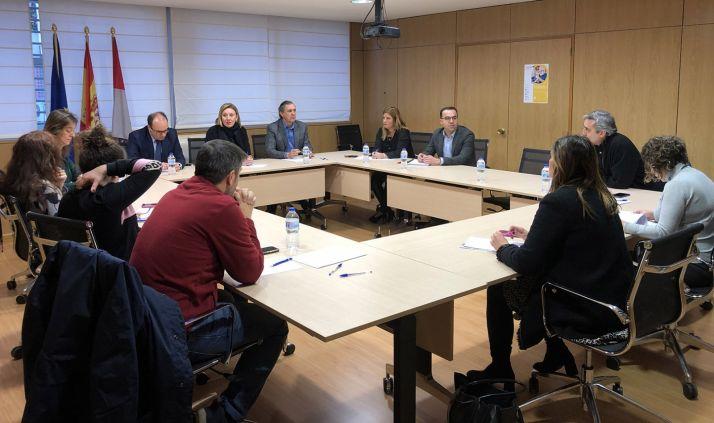 imagen de la reunión mantenida este viernes en Valladolid. /Jta