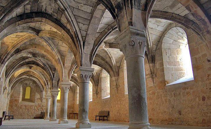 Sala de los Conversos, en el interior del monasterio.