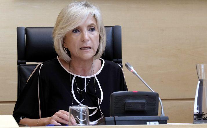 Verónica Casado, responsable de la sanidad regional.