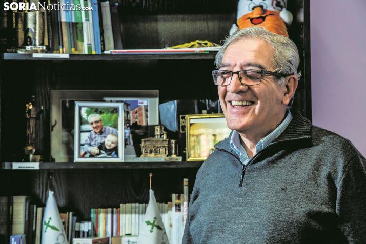 Fernando Ligero, presidente de la AECC de Soria. Carmen de Vicente