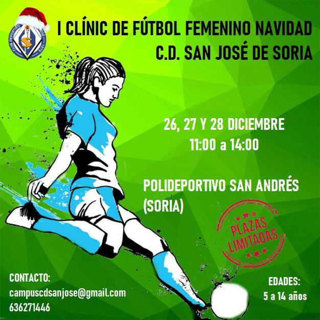 Foto 2 - En estas Navidades, turrón de chocolate: I Clínic de Fútbol Femenino a cargo del San José