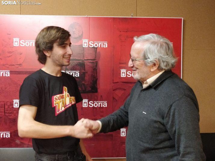 Jesús Bárez junto a Ivan Manrique. SN