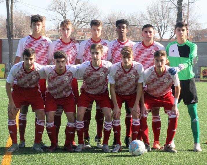 Once de la Sub-16 de Castilla y León ante Cantabria. FCyLF