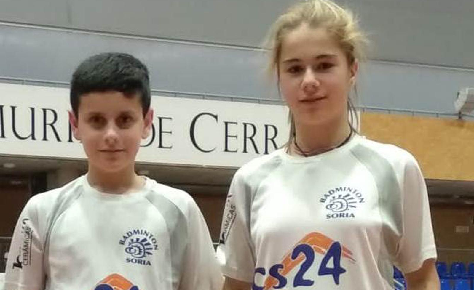 Daniela Corchón y Adrián Díez.