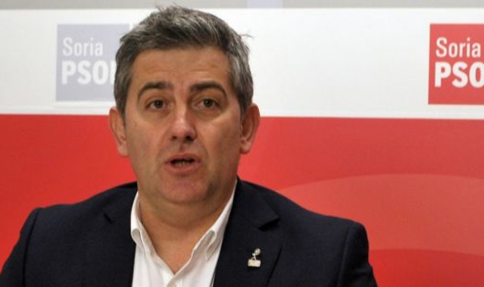 Javier Antón, diputado del PSOE por Soria.