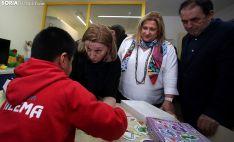 Una imagen de la visita de la consejera a Soria. /SN