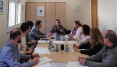 Reunión este viernes con la directora general de Turismo en FOES. /ASOHTUR