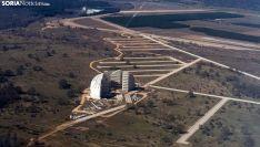 Una imagen del Parque Empresarial del Medio Ambiente, junto al aeródrommo. /SN