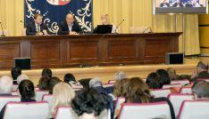 Imagen de la comparecencia institucional sobre las ayudas. /SN