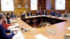 Imagen de la reunión de Coordinación Territorial esta tarde. /Jta.