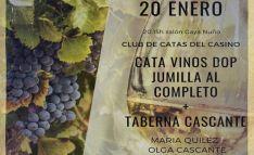 El lunes, cata de vinos de Jumilla en el Casino