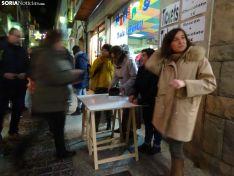 Una imagen de la céntrica calle soriana esta tarde de sábado. /SN
