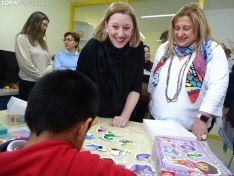 Isabel Blanco, Consejera de Familia e Igualdad en la Residencia de Acogida Marillac