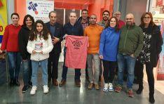 El Bádminton Soria-CS24 también se apuntó a la donación. /