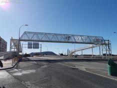 La pasarela de Soria a Camaretas, lista