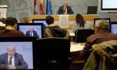 El vicepresidente y portavoz de la Junta, Francisco Igea, hoy en rueda informativa.