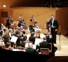 Una imagen del concierto en Zaragoza.
