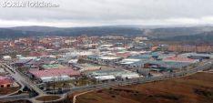 Vista aérea del polígono industrial de Las Casas.