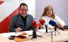 Santurnino de Gregorio junto a María Ángeles Garijo este lunes. /SN