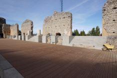 Foto 3 - La restauración del teatro romano de Clunia, prevista para marzo de 2020