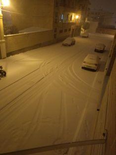 Nieve en la provincia de Soria.