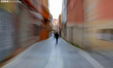 Imagen de la calle Zapatería, en la zona antigua de la ciudad. /SN