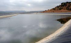 Una de las infraestructuras del Canal de Olmillos. /CHD