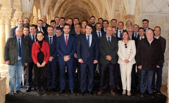 Imagen de responsables de la Junta y de ICE, Sodical y Empresa Familiar de Castilla y León. /Jta.